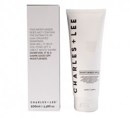 Charles and Lee Moisturiser with SPF 100ml