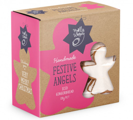 Molly Woppy Iced Festive Angels 120g