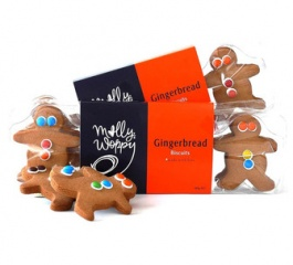 Molly Woppy Gingermen Gingerbread Tray 180g