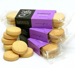 Molly Woppy Traditional Shortbread 100g