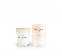 Hutwoods Candle Nectarine and Mint 125g