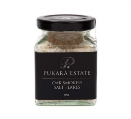 Pukara Estate Oak Smoked Salt Flakes 100g