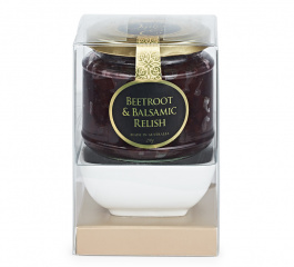Ogilvie & Co Beetroot and Balsamic Relish Bowl Set 210g
