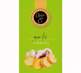 Ogilvie & Co Garlic Nibbles 50g Green Box