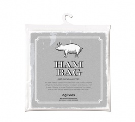 Ogilvies Designs Christmas Ham Bag