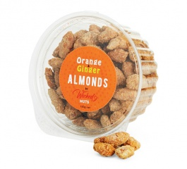 Wicked Nuts Orange Ginger Almonds - Various Sizes