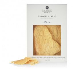 Moreish Menu Plain Lavosh Crackers 100g
