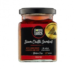 Poppysmack Siam Chilli Sambal 190ml