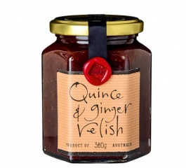 Ogilvie & Co Quince and Ginger Relish 365g