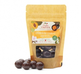 Rhuby Creations Choc Apricot 80g or Choc Ginger 125g