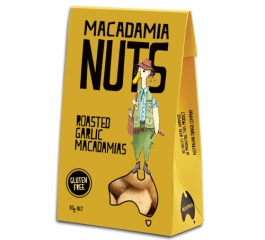 Duck Creek Macadamia Nuts Roasted Garlic 80g