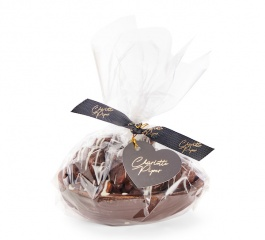 Charlotte Piper Rocky Road Egg Dark Choc 300g