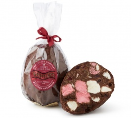 Whistlers Rocky Road Egg - Dark Choc Blackforrest 300g