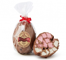 Whistlers Rocky Road Egg - Peanut & Coconut 300g