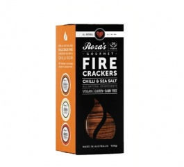 Roza's Gourmet Fire Crackers 120g