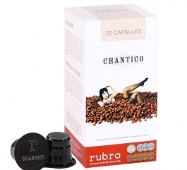 Rubra Chantico Coffee Capsules 20's