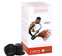 Rubra Jazz Coffee Capsules 20's