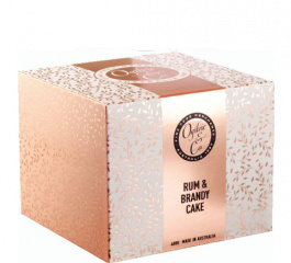 Ogilvie & Co Rum and Brandy Cake 400g