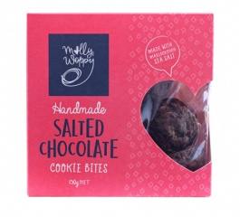 Molly Woppy Salted Chocolate Cookie Bites 130g