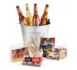 Secret Mens Business - Gourmet Gift Bucket