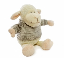 Lambert Sheep with Grey Jumper 25cm