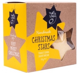 Molly Woppy Shortbread Stars 130g