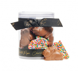 Charlotte Piper Sprinkle Sitting Choc Bunnies 114g - Various