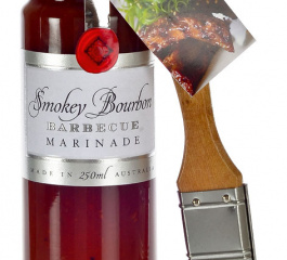 Ogilvie & Co Smokey Bourbon BBQ Marinade 250ml