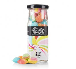 Australian Sweet Co Sour Drops 170g