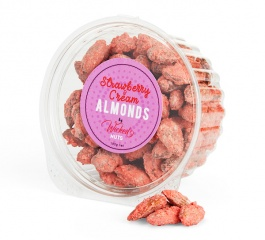 Wicked Nuts Strawberries and Cream Almonds - Various Sizes