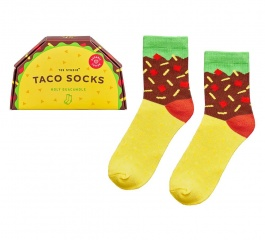 Junk Food Socks - Taco or Burger