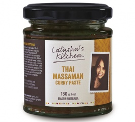 Latasha's Kitchen Thai Massaman Curry Paste 180g