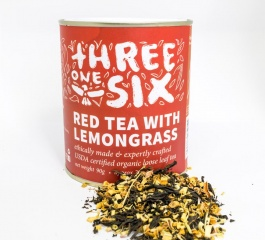 Threeonesix Red Tea and Lemongrass Loose Leaf Tea 90g