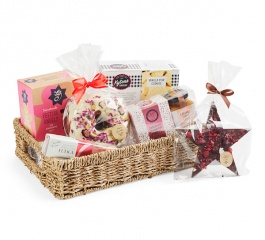 Under The Mistletoe - Christmas Basket