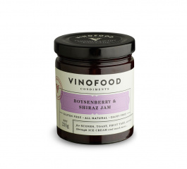 Vinofood Boysenberry and Shiraz Jam - Various Sizes