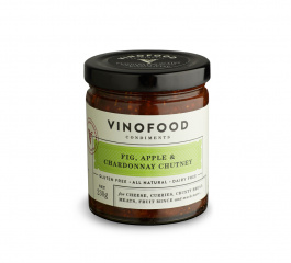 Vinofood Fig, Apple and Chardonnay Chutney - Various Sizes