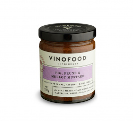 Vinofood Fig, Prune and Merlot Mustard - Various Sizes