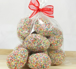 Whistlers Freckled Easter Eggs - Cello Bag 400g