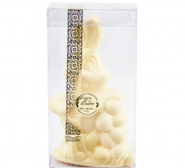 Whistlers White Chocolate Egg Bunny 150g