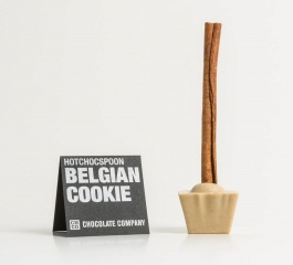 Chocolate Co Belgian Cookie White Chocolate Spoon 50g