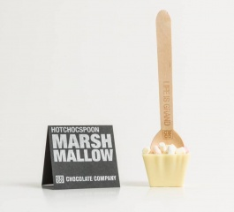 Chocolate Co Marshmallow White Chocolate Spoon 50g