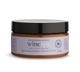 WineSpa Rejuvenating Body Butter with Grape Seed Oil 250ml - Revive