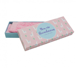 Sock Gift Box - You Are Llamalicious