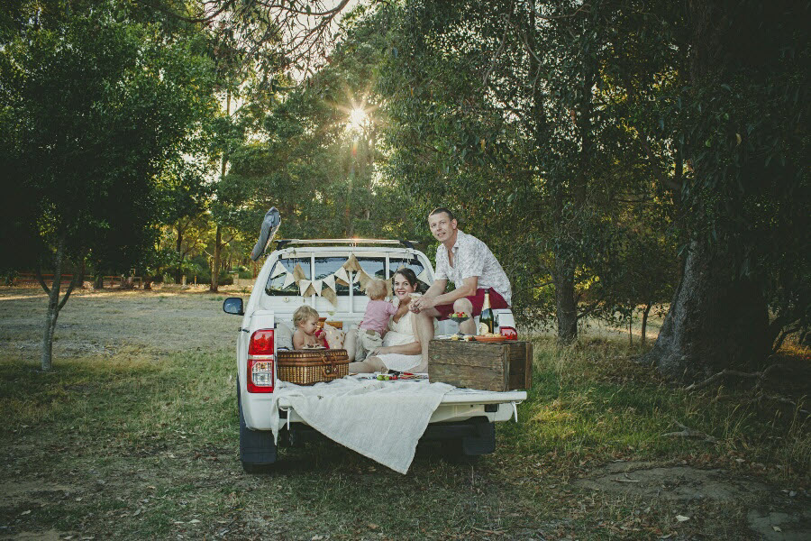 Ellie Wilkinson & Family - A Moveable Feast Catering Perth
