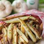 truffle oil garlic fries