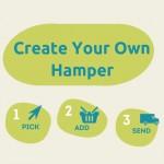 create your own hamper - pick, add, send