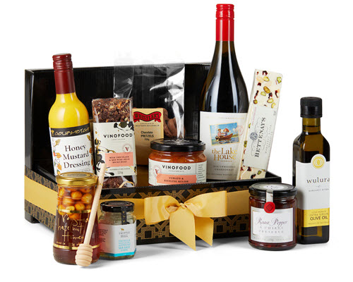 corporate gift hamper - just in time gourmet