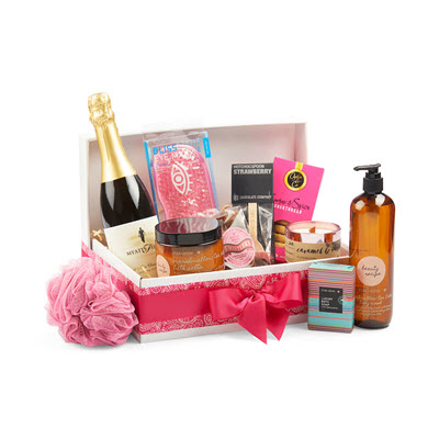 girls night in birthday hamper ideas