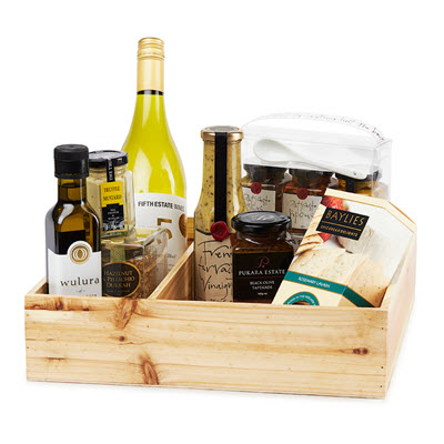 gold class retreat gourmet birthday hamper ideas