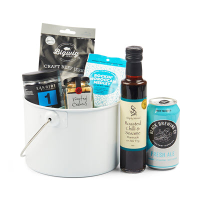 out of the blue birthday hamper ideas